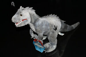 JURASSIC WORLD-ORIGINAL-INDONIMUS REX-PLUSH/PELUCHE (NEUF/NEW)
