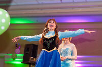 Anna and Elsa Magical Frozen Princess Parties in HRM