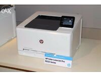 HP LaserJet Pro M252dw Wireless Colour Laser Printer, White used