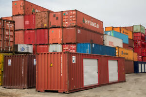 40' & 20' ; USED SHIPPING CONTAINER SALE!