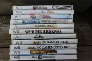 11  Wii GAMES   ALL FOR ONLY $35.00