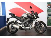 2015 65 YAMAHA MT 125 ABS ***VERY LOW MILEAGE***