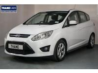 2015 Ford C-Max 1.0 Ecoboost 125ps Zetec With Rear Parking Sensors, Bluetooth An