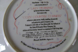 COLLECTOR PLATE BY HANNAH HOLLISTER Windsor Region Ontario image 2