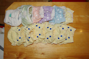 Couches lavables - couvre-couches - cloth diapers - diaper cover