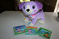 """Leap Frog """"Violet"""" Reading puppy"""