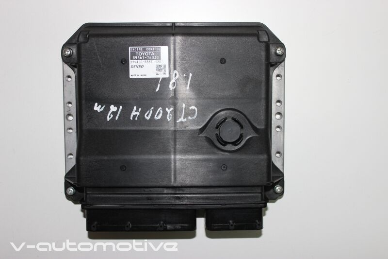 2012 LEXUS CT 200H / ENGINE ECU COMPUTER 89661-76030