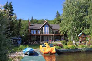 Chalet/Maison à louer lac Sept-Îles Québec