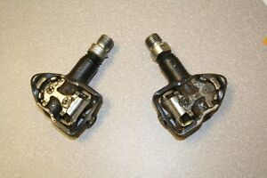 Bicycle gear: Set of clipless Ricono bike pedals