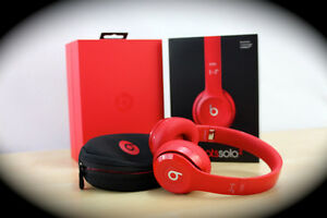 NEW CONDITION RED BEATS SOLO2 TRADE FOR BOSE HEADPHONES