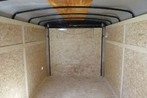 2016 7X14 Enclosed/Cargo Trailer Canadain Hauler - AIR LITE