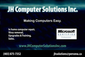 Onsite Computer Repair for Chestermere, Langdon, and Calgary