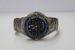 **CLASSY** Citizen Blue Angels Men's Chronograph Watch (#1879)