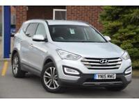 2015 Hyundai Santa Fe 2.2 CRDi (194bhp) 4WD Premium (5 Seats) Diesel silver Auto