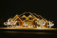 Christmas lighting-Commercial and Residential installation