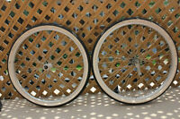 "ROUES 26"" / 26"" Wheels (rims+new tires+inner tubes) Single-Speed"