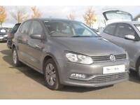 2015 Volkswagen Polo 1.0 SE (60 PS) BMT 5-Dr Petrol grey Manual
