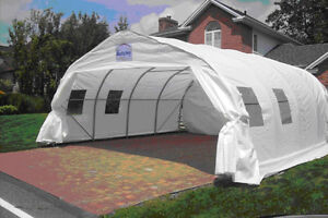 Great Condition Two Car Snow/winter Shed Tempo Shelter For Sale