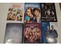 6 movie DVDs for sale