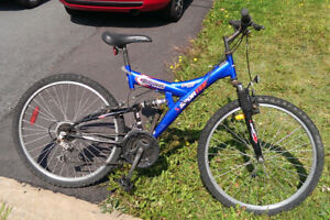 18 Speed Bicycle Electric Blue