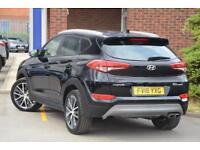 2018 Hyundai Tucson 1.6 T-GDI GO SE (2WD) Petrol black Manual
