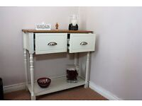 Oak top lounge table house living room furniture drawer chest set Lough view Joinery LTD