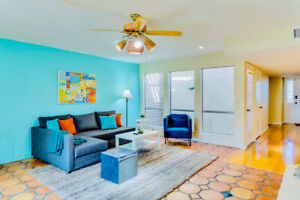 All-Inclusive Townhouse w/ Back Patio, BBQ, Pool, and Hot Tub