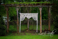 Macrame wedding backdrop rental (Kingston Cottage Macrame)