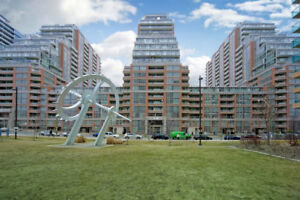 2 Bedroom Townhouse w/Parking located in Liberty Village.