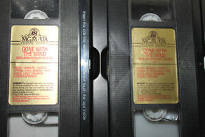 VHS GONE WITH THE WIND 50th anniversary addition  1989 Kingston Kingston Area image 5