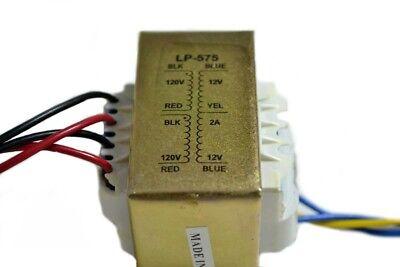 Line Matching Transformer - Lp-575 110220v 12-0-12v 2a Nippon America