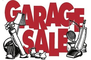 Garage sale this weekend lots and lots of things!