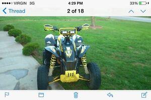 4x4 race quad 500cc