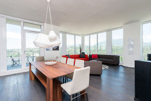 Luxury 2500 SQ FT. Penthouse Fully Furnished with 360 Views