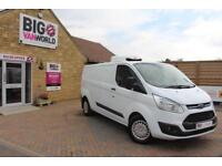 2015 FORD TRANSIT CUSTOM 330 TDCI 125 L2 H1 TREND LWB LOW ROOF FRIDGE INSULATED
