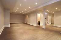 WINTER SPECIALS: FINISHED BASEMENT UP TO 15% OFF