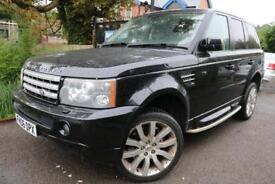 2006 Land Rover Range Rover Sport 4.2 V8 Supercharged Black SAT NAV LEATHER