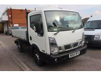 2015 Nissan NT400 CABSTAR 34.12 dCi Tipper Diesel white Manual