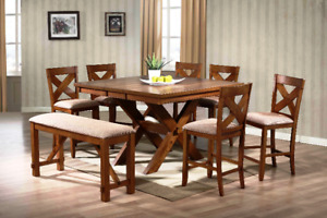 Tables and chairs in stock, excellent prices and quality, NEW