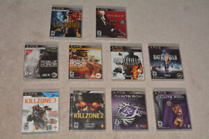 Lot of 10 Playstation 3 PS3 Games