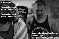 Kickboxing Personal Training - SPECIAL CHRISTMAS SALE!!!