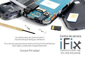 Cellphone Repair / Reparation Cellulaire SAMSUNG