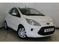 2012 12 FORD KA 1.2 EDGE 3DR 69 BHP