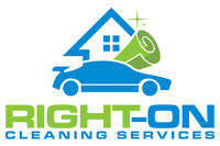 Right on  cleaning services