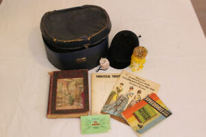 Antique and Vintage Hat Box, Riding Helmet, Pin Cushions & More