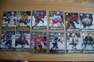 15-16 UD Young Guns Hockey Cards Lot