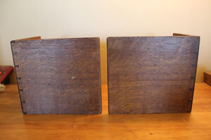 Vintage Wooden Bookends with Heart Cut Outs London Ontario image 4