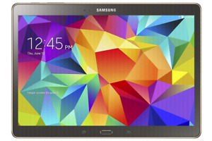 """SAMSUNG GALAXY TAB S 10.5"""" GREAT CONDITION WITH KEYBOARD CASE for sale  Ville Montréal"""