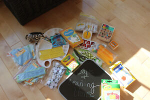 Various Learning and Craft Supplies