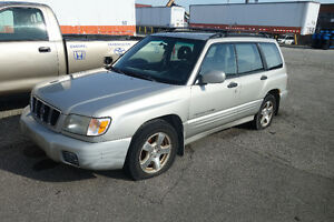 2001 Subaru Forester Wagon For Sale CHEAP AWD